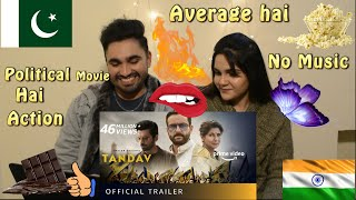 Pakistani React to Tandav भारतीय राजनीतिक फिल्म,Trailer,Saif Ali Khan, Dimple,Sunil, Desi H&D Reacts