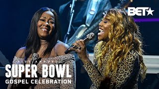 Yolanda Adams & Le'Andria Johnson Perform 'The Battle Is The Lord's' | Super Bowl Gospel 2020