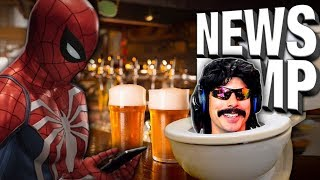 Spiderman Drunk Dials Disney & Dr. Disrespect Gets a TV Show! - News Dump