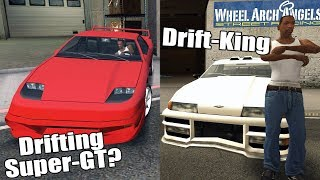 GTA San Andreas Best Drift Cars