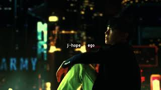 j-hope - ego (slowed down)༄