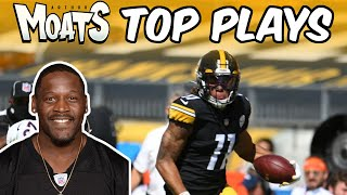 Moats Top Plays: Ep. 3  (Week 2: Top 5 Pittsburgh Steelers Plays)