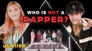 6 Rappers vs 1 Fake Rapper | Odd Man Out