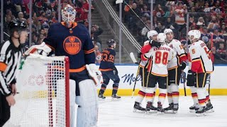 "The Cult of Hockey's ""Oilers stomped by Flames -- and a radical plan on how to fix things"" podcast"