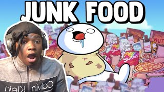 Junk Food - TheOdd1sOut (Gloo.tm Reaction)