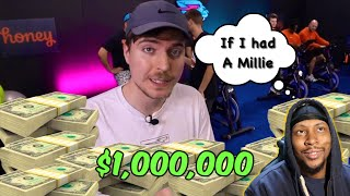 Last To Stop Biking Wins $1,000,000 **Reaction**
