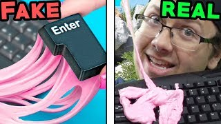 Making Really Bad GAMER Life Hacks