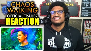 Chaos Walking (2021) - Official Trailer Reaction | Tom Holland, Daisy Ridley, Nick Jonas
