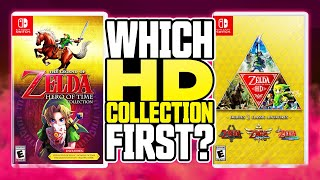 Which HD Collection Should Nintendo Make First? | Zelda 35th Anniversary