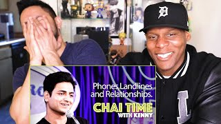 Chai Time Comedy Kenny Sebastian: Mobile Phones, Landlines & Love | REACTION with Chris Jai Alex
