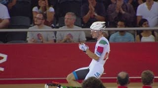 Cycling Track Men's Omnium  Elimination Race Full Replay -- London 2012 Olympic Games