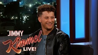 Patrick Mahomes on Kansas City, Bachelor Party & Crazy Fans