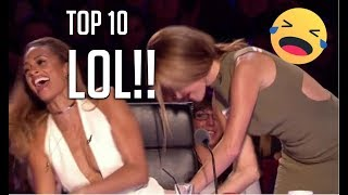 10 FUNNIEST AUDITIONS EVER ON BRITAIN'S GOT TALENT!