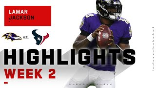 Lamar Jackson Leaves Houston Behind w/ 204 Passing Yds & 1 Touchdown | NFL 2020 Highlights
