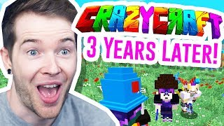 Playing Minecraft CRAZYCRAFT 3 Years Later!