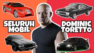 Seluruh Mobil Dominic Toretto di The Fast And The Furious Movie Series