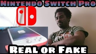 This has to be a hoax 🤔⁉️ | Nintendo Switch Pro: No one expected this | REACTION!!!