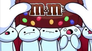 Every time TheOdd1sOut says mm and now m&m