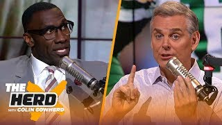 Shannon Sharpe is critical of Jimmy G's Super Bowl performance, talks Reid & Mahomes| NFL | THE HERD