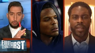 Cam Newton benched in 4th quarter, Patriots fall to 49ers — Wright & Vick | NFL | FIRST THINGS FIRST