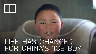 China's 'ice boy' gets new home, but family still struggles to make ends meet