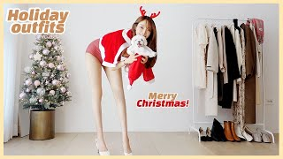 Christmas Party Winter Outfit Ideas | holiday outfits | winter outfits | firtst date outfits