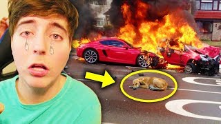 5 SADDEST MOMENTS In YouTube Videos! (DanTDM, MrBeast, Morgz, Guava Juice)