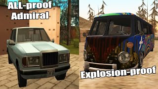 GTA San Andreas Best Unique Vehicles