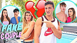 Being A FAKE Youtube Couple To See How Other YOUTUBERS React...