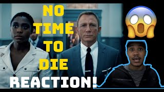 James Bond No Time to Die Official Trailer Reaction!!