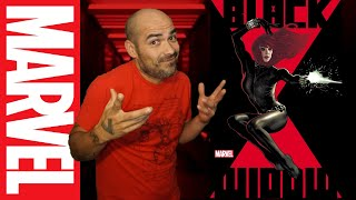 NEW BLACK WIDOW Comic Book WRITER: upcoming series announced