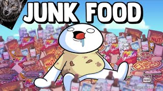 Reaction to theodd1sout (junk food)