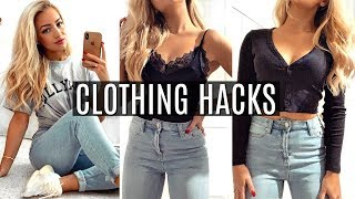 EVERY FASHION HACK YOU'LL EVER NEED TO KNOW!