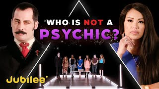 Can 6 Psychics Predict The Fake Psychic? | Odd Man Out