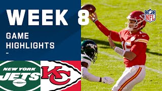Jets vs. Chiefs Week 8 Highlights | NFL 2020