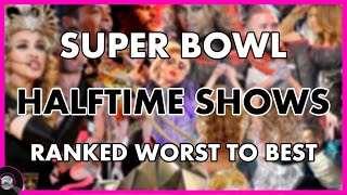 Super Bowl HALFTIME SHOWS (2011-2021) - Ranked WORST to BEST 🏈
