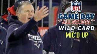 "NFL Wild Card Round Mic'd Up, ""I can't read, can't write, can't do math... but I can compete"""