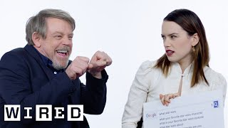 The Last Jedi Cast Answer the Web's Most Searched Questions | WIRED