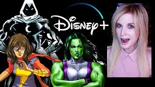Disney Plus - Moon Knight, She Hulk, Ms Marvel