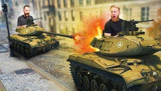 Tank vs. Tank Battle Challenge! | W.O.T