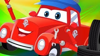Meet The Mechanic | Super Car Royce | Cartoon Videos For Kids