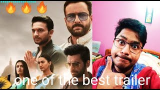 Tandav Trailer | One Of The Best Trailer I Have Watched | Ashhar Vibes Reaction