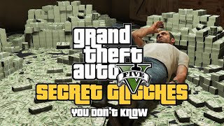 GTA 5 - Secret Glitches You Don't Know! (TOP 30)