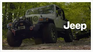Jeep® | Silver Lake Sand Dunes | Father and Son