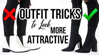 7 INSTANT Outfit Tricks to Look More ATTRACTIVE & STYLISH!