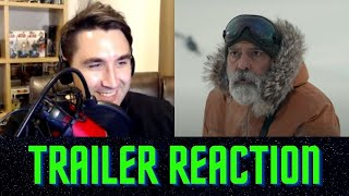 THE MIDNIGHT SKY | Official Netflix Trailer REACTION | George Clooney Movie