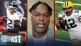 Aaron Rodgers is NFL MVP; Derrick Henry is only Titans MVP — LaVar Arrington | FIRST THINGS FIRST