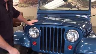 Willys Jeep CJ-5 Identification - Kaiser Willys Omix-ADA Tour