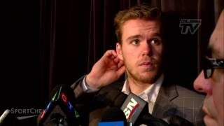 PRE-GAME RAW | Connor McDavid