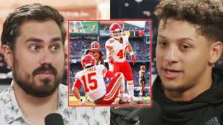 Patrick Mahomes and Anthony Sherman Full Interview on Pardon My Take
